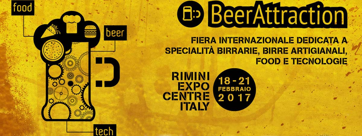 BEER ATTRACTION - Fiera Int. specialità birrarie, birre artigianali, food